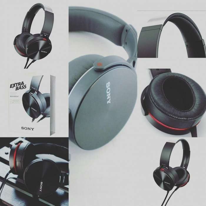 SONY MDR-XB950AP On Ear Extra Bass Headphones 0