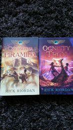Rick riordan kroniki rodu kane czerwona piramida ognisty tron