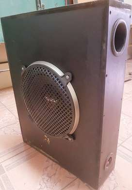 Passive enclosed Subwoofer with Sony Xplod for Bantam