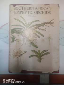 Unique Book - Collectors item/ Southern African Epiphytic Orchids