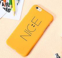 Etui Iphone 7 Plus , uśmiech napis Nice