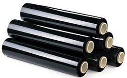 Стрейч стретч пленка упаковочная черная 2,2кг 50см.