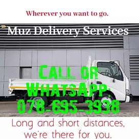 Delivery services for moving and simply courier.