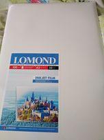 Пленка Lomond для цветных струйных принтеров, А3, 50л.