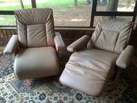Image of Leather Recliner _ 1 x LazyBoy