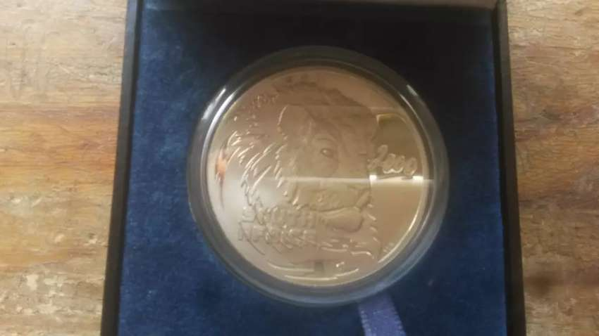 RSA PROOF SILVER LION TWO OUNCE COIN 0