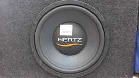 HERTZ 12 INCH SUBWOOFER WITH BOX