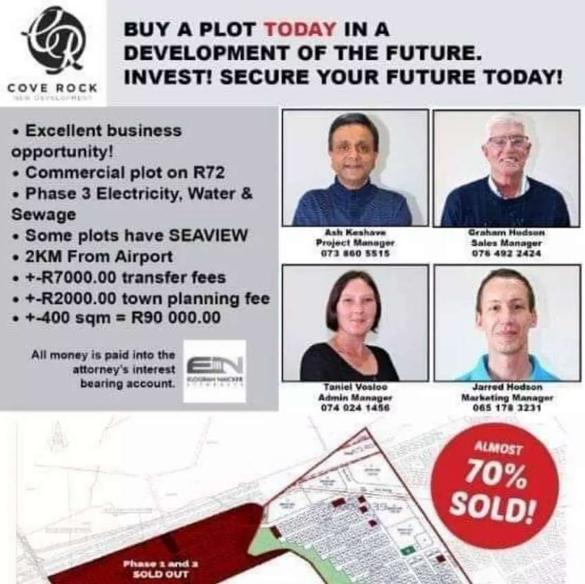 Residential plots for sale in East London 0