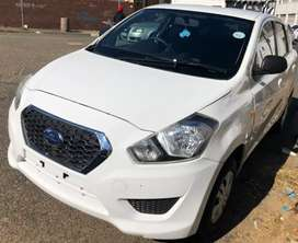 Datsun GO+ 7 seater stripping