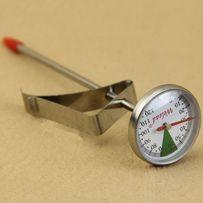 Кухонный градусник с клипсой/аналоговый термометр для молока/воды/кофе