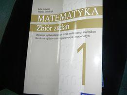 Matematyka-zbiór zadań 1 Kołodziej,Szubarczyk-wyd.nowa era
