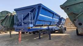 Side Tipper Superlink Trailer