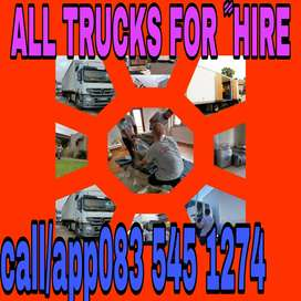 RELIABLETRUCKS AND BAKKIES FOR ﹰﹰHIRE