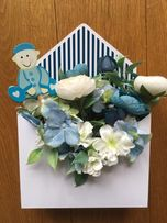 Flower box - chrzciny