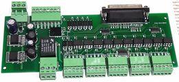 Интерфейсная плата ЧПУ(CNC) с опторазвязкой порта LPT на 5 осей