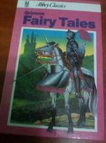 Книги англійською, казки братів Грімм Grimm's fairy tales