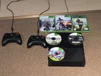 Image of Xbox 360 + games