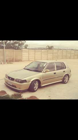 2006 Toyota Tazz 1.3 for sale.I have the car from Brand new.192000kms.