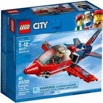 LEGO CITY 60177 Odrzutowiec Pokazowy Samolot NOWE Lublin