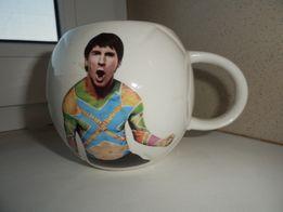 подарочная чашка футбольный мяч