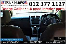 Dodge Caliber 1.8* 2007-13 used interior parts for sale