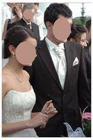 Wełniany garnitur Pierre Cardin na wysokiego brąz 100% wełna
