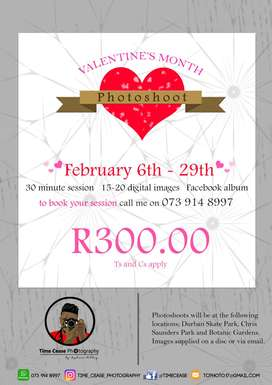 Valentines Month Photoshoot special