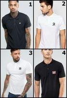 Мужская футболка поло Adidas, Nike, Reebok, Puma, Champion, Fila, TNF.