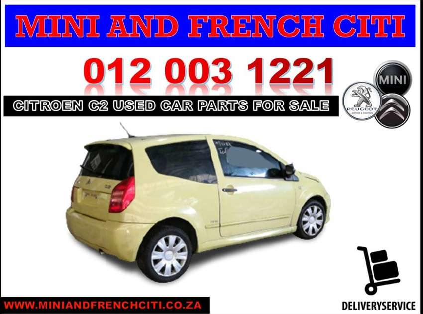 Citroen C2 stripping for used car spares and parts for sale 0