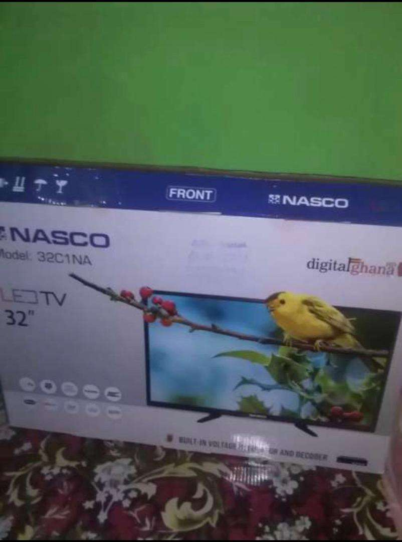 "NASCO 32"" HD DIGITAL SATELLITE LED TV 0"