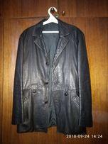 Пиджак кожаный, размер 52