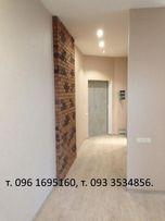 Ремонт квартир, домов под ключ.Шпатлёвка, штукатур.,гипс,обои,покраска