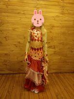 Платье-костюм двойка восточные танцы