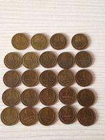 Коллекция монет СССР 1 копейка.