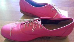Новые кожаные туфли Франция