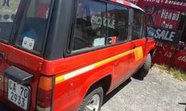 Isuzu trooper 4.4 .2 ltr.papers