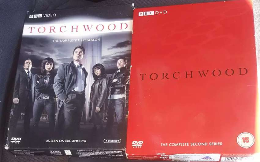 BBC Hit Series: Torchwood S1 and S2 Box Sets 0