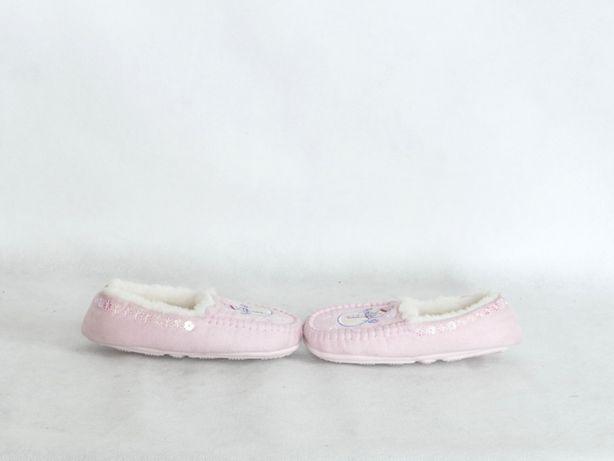M&S NOWE kapcie dla dziewczynki kożuszek 23 14,5 cm Lubaczów - image 5