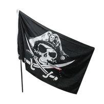 """Пиратский флаг """"Веселый Роджер"""" 90*150 см"""