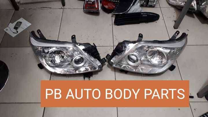 Toyota Land Cruiser / Prado LH & RH Headlight / Headlamp 0