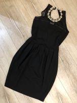 Маленькое чёрное коктельное вечернее платье