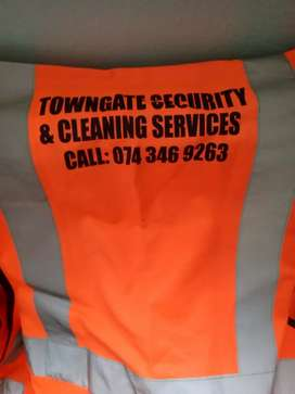 We are Towngate Projects we do cleaning  ,provide maids and security
