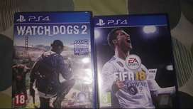 Watch dogs 2 unused and FIFA 18