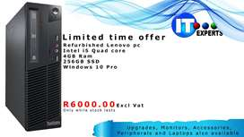 Refurbished Lenovo PC