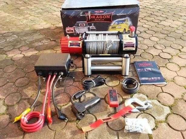 Wyciągarka, wciągarka samochodowa Dragon Winch DWM 13000 ST 12V 6/12T Dobra - image 1