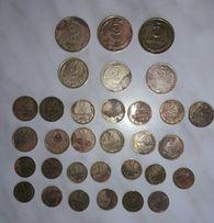 Монеты СССР 5, 3, 2, 1 копейки