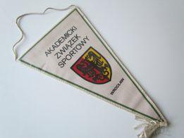 Proporczyk AZS Wrocław Akademicki Związek Sportowy