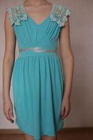 Платье 9 лет голубое плаття на випускний, сукня, сарафан