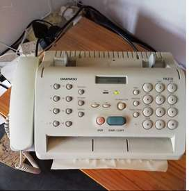 Telephone/Fax machine