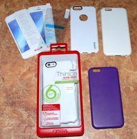 Чехол Gear4 ThinIce для Айфон Apple iPhone 6/6S + защитное стекло